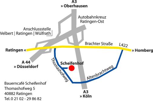 Scheifenhof in Ratingen   Kreis Mettmann   Bauerncafe